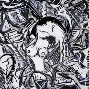 Peinture Pau artiste