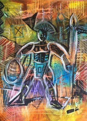 Cyril Afonso peinture